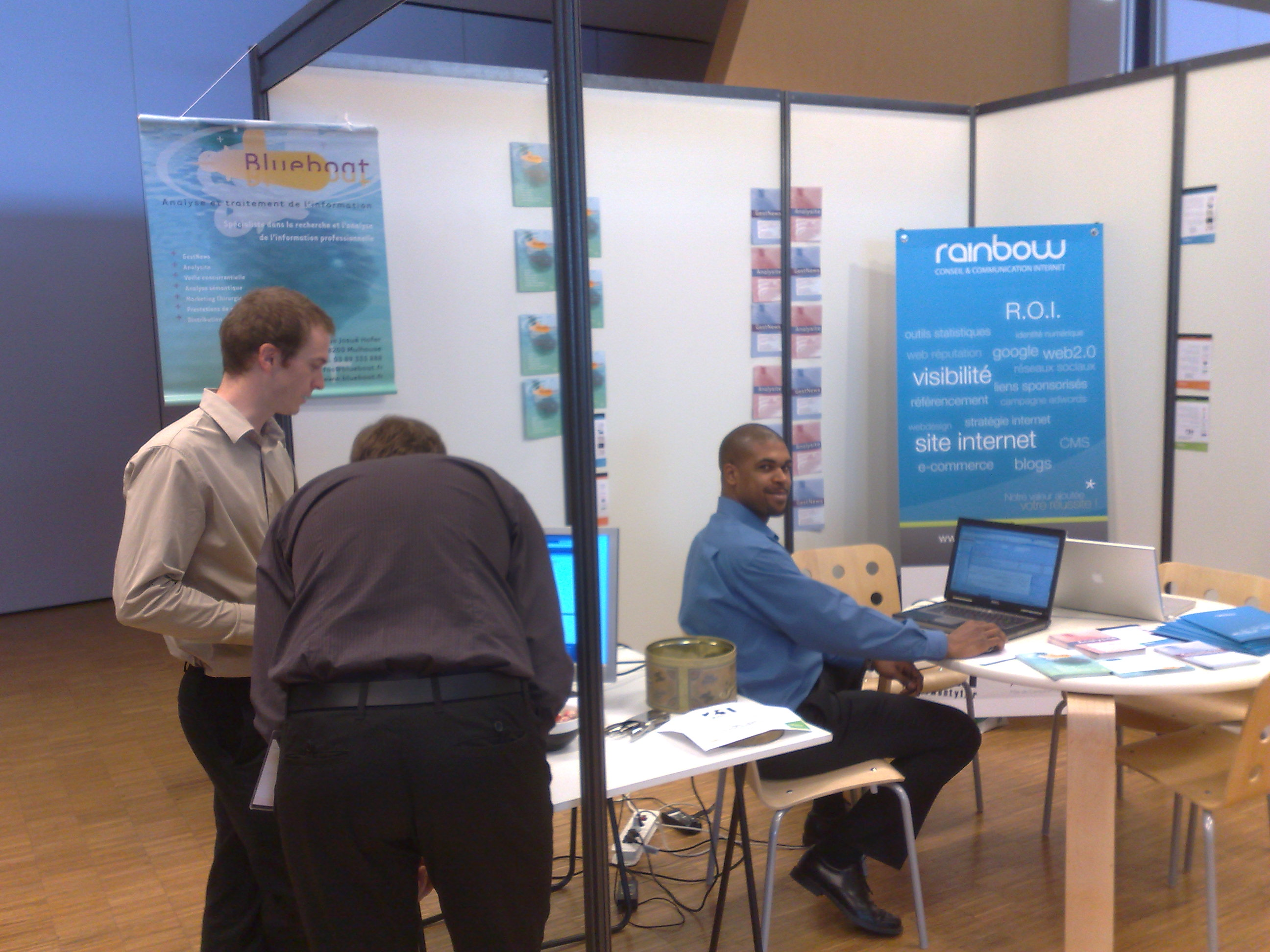 Le stand Blueboat
