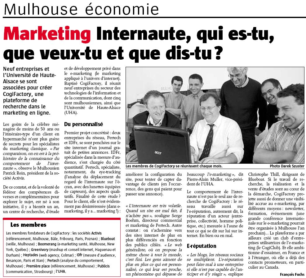 Cogifactory article juin08