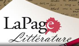 La page Littérature
