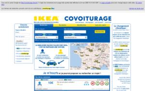 Cache de covoiturage.ikea.com