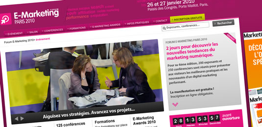 Conf rence sur l 39 e r putation au salon emarketing 2010 - Salon emarketing paris ...