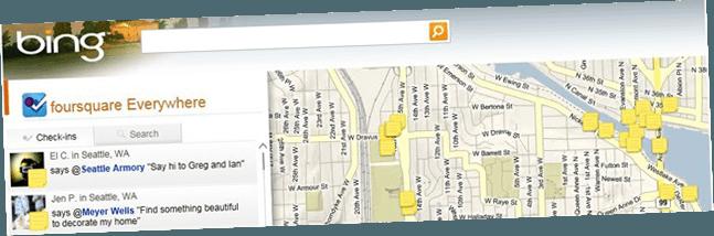 Bing-géolocalisation-foursquare