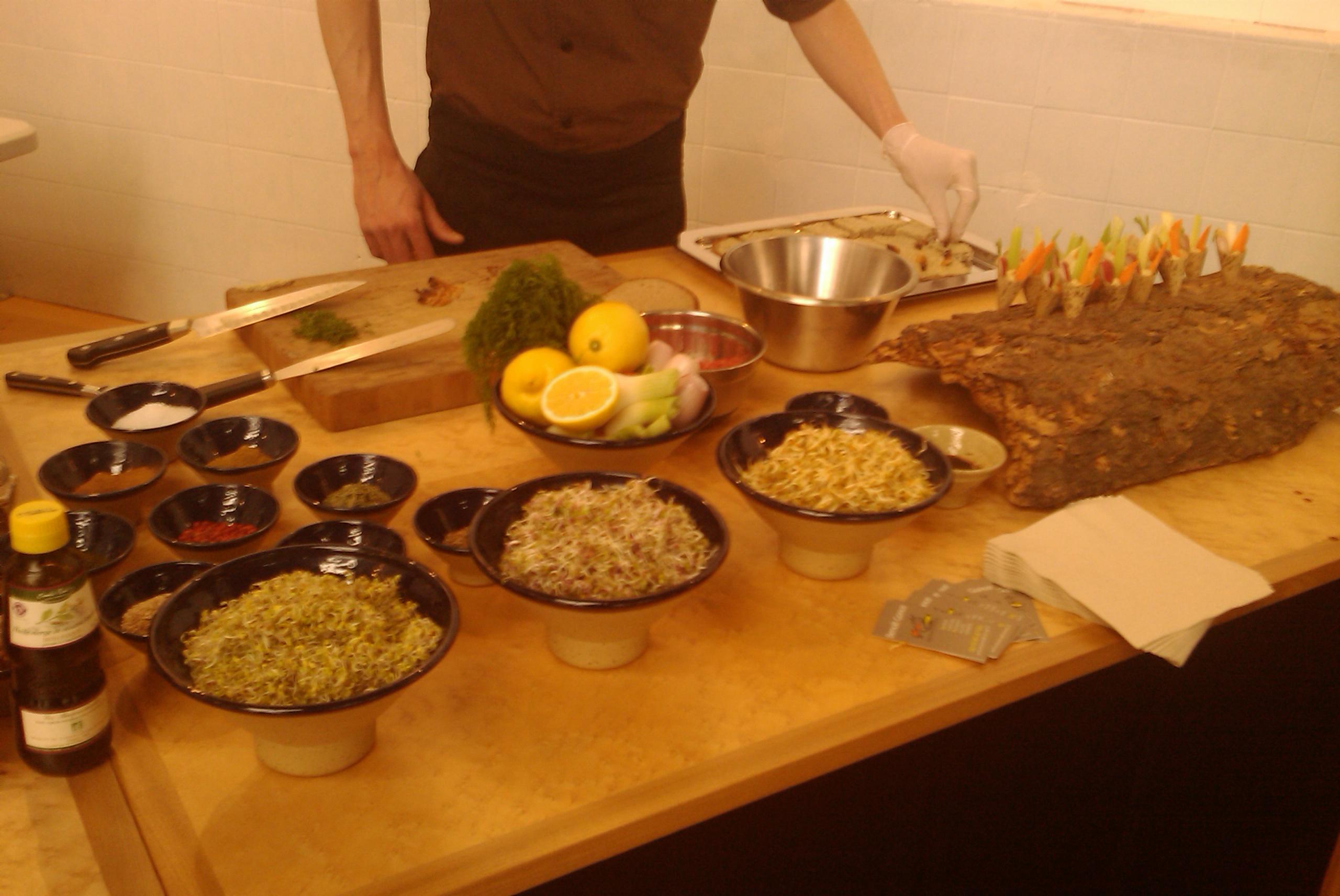 Le buffet : performances culinaires