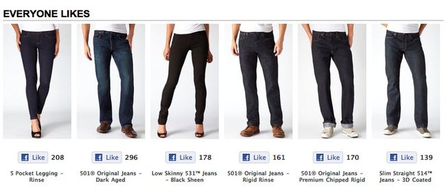 facebook-shopping-levis