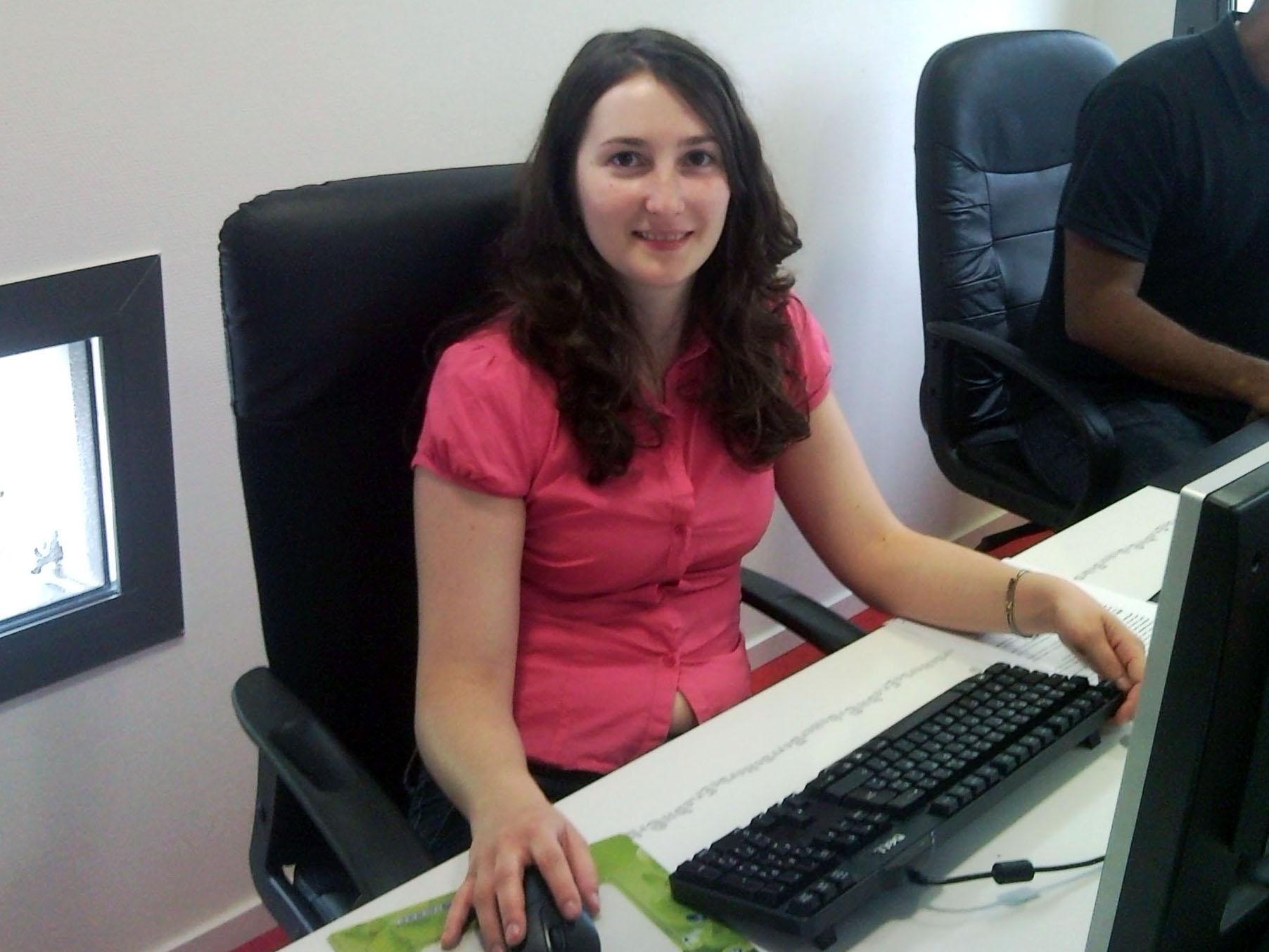 Odile Vincent, community manager et chargée de veille (BlueBoat)