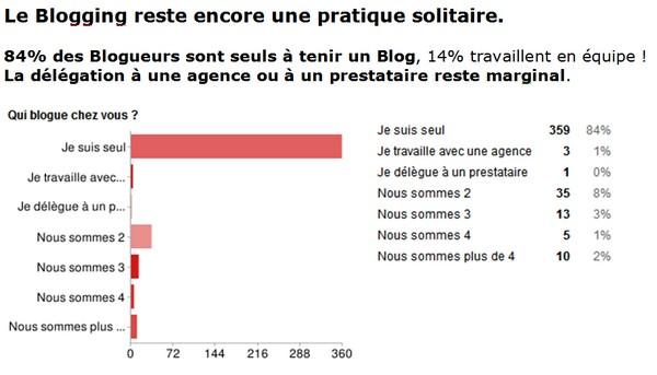 etude sur les blogs en France