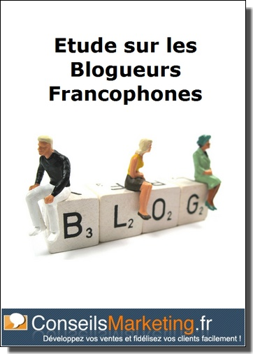 etude sur les blogueurs français