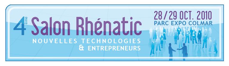 Le salon Rhénatic des nouvelles technologies et des entrepreneurs aura lieu les 28 et 28 octobre