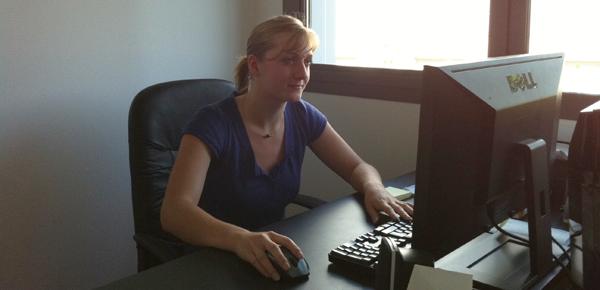 Gaelle Ketterer   nouvelle recrue chez BlueBoat