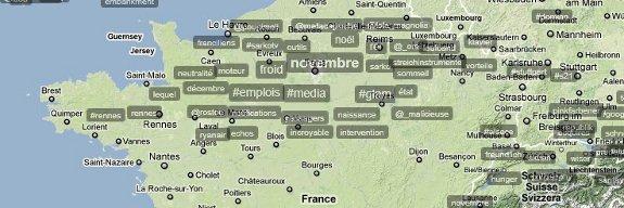 Les tendances sur Twitter en France
