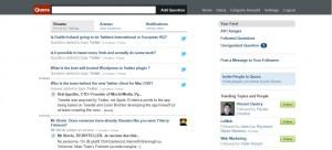 Quora, réseau social