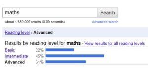 Analyse du niveau de lecture sous Google