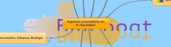 Cartographie : Les agences d'E-réputation en France