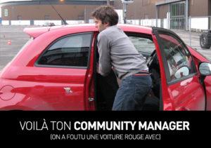 Votre community manager...