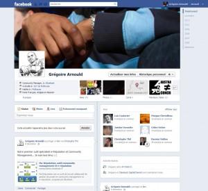 Un profil avec Facebook Timeline