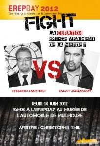 Le fight ErepDay : Frédéric Martinet  Vs. Salah Benzakour.