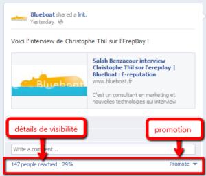 promotion et visibilité