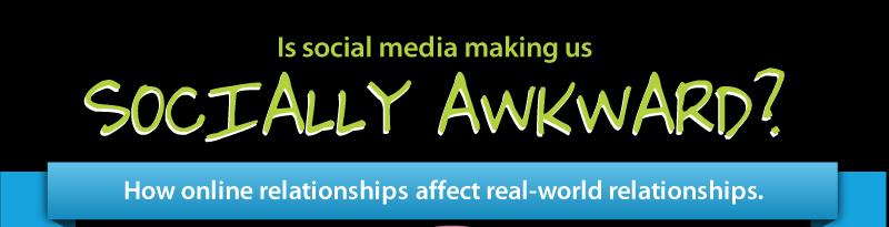 l'impact des médias sociaux sur notre vie réelle.