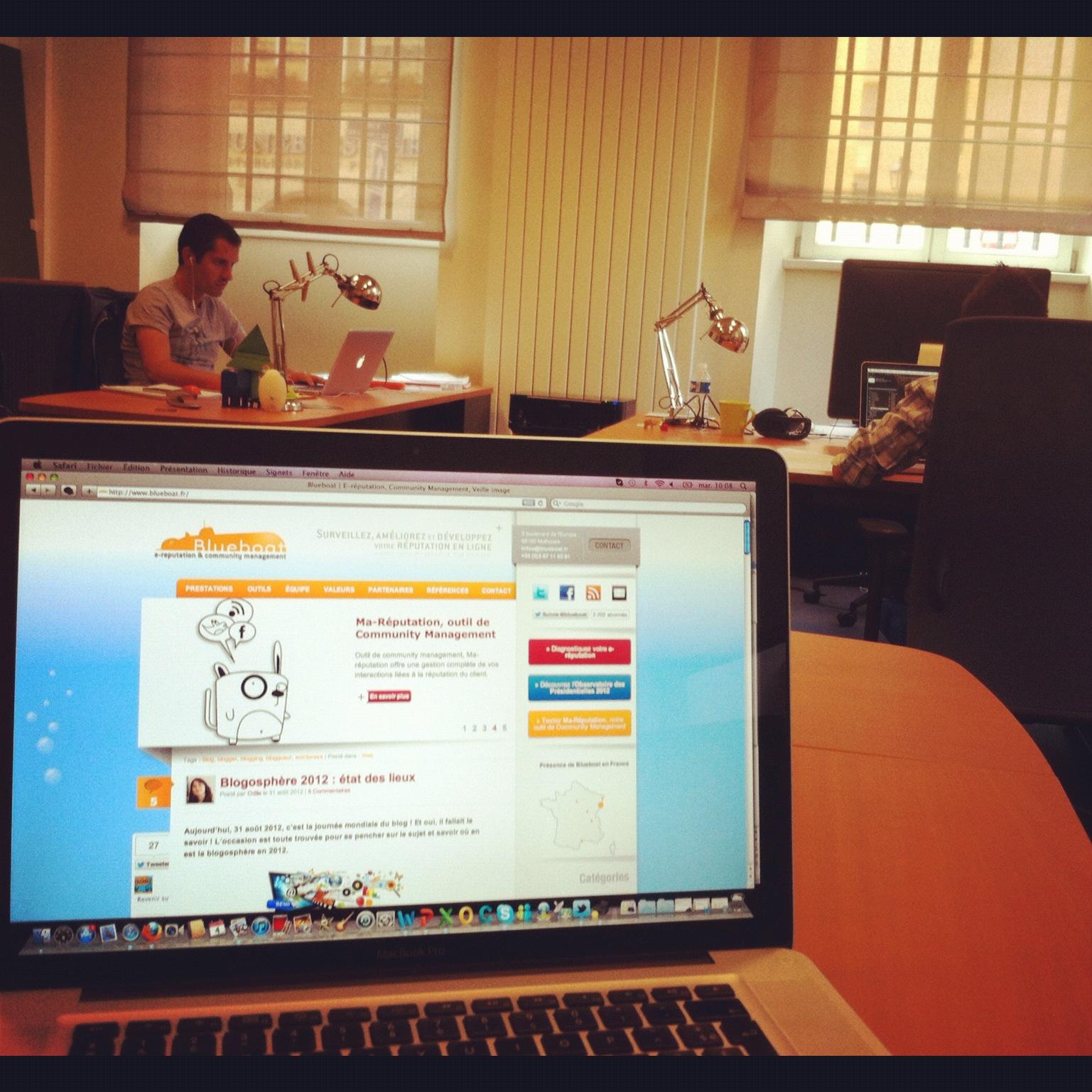 L'espace de travail