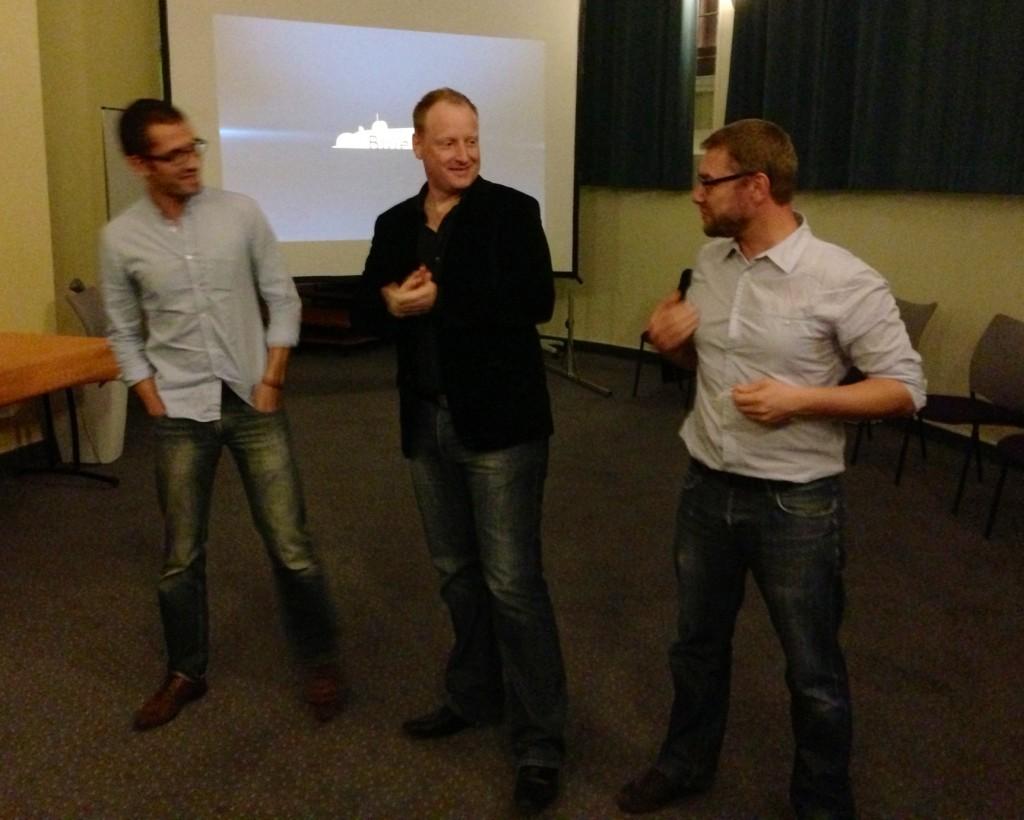 Jean-François Carrere, Christophe Thil et Sylvain Berthaux