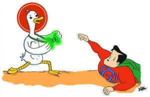 DuckDuckGo, le moteur de recherche respectueux de la vie privée