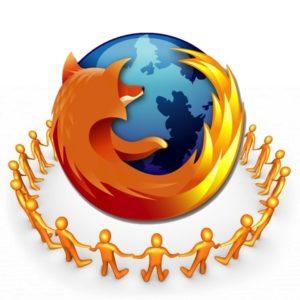 Firefox - Fonctionnalités sociales