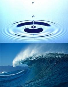 Influence d'une goutte d'eau dans l'océan - Effet Papillon