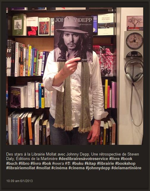 La Librairie Mollat de Bordeaux cache ses libraires derrière des livres