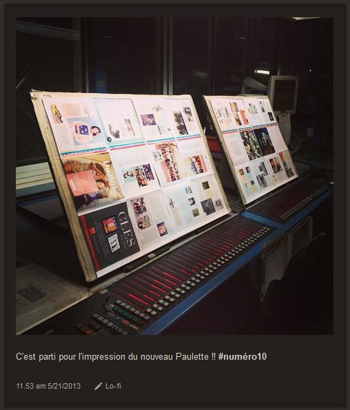 La magazine Paulette, prêt à être imprimé !