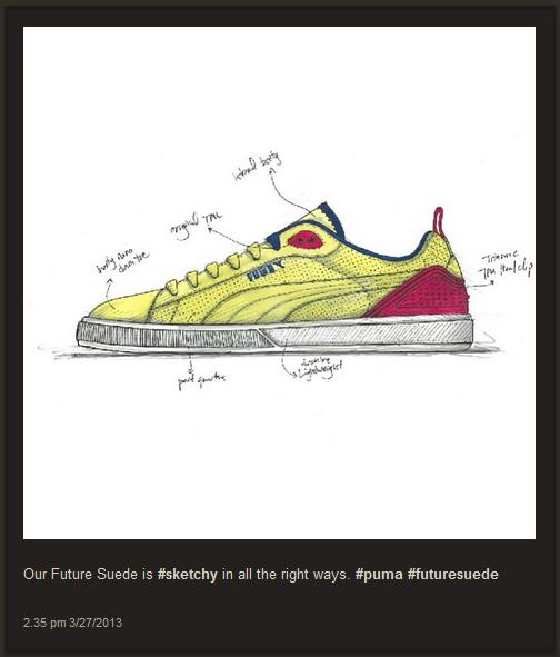 Puma présente ses futures chaussures