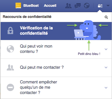 Vérification confidentialité Facebook