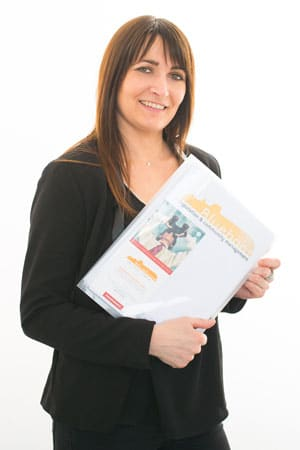 Audrey Trombini, gestionnaire administrative Blueboat