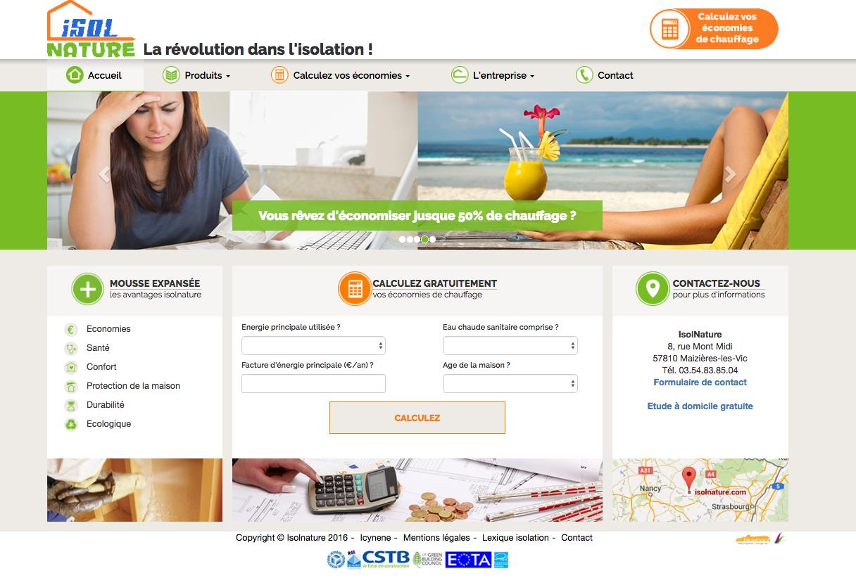 site web stratégie web blueboat
