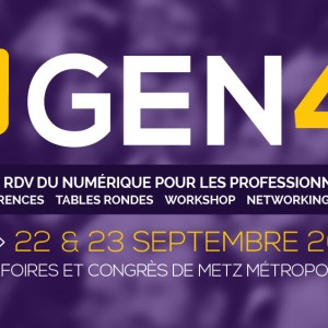 Blueboat présent au #GEN4, grand rendez-vous du numérique pour les professionnels